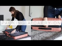 (101) Pack With Me: Carry-On Top Tips | The Anna Edit - YouTube