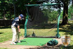 Pro Series Golf Net Outdoors