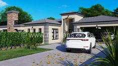 6 Bedroom House Plans - My Building Plans South Africa Tuscan House Plans, Metal House Plans, My House Plans, Family House Plans, Split Level House Plans, Single Storey House Plans, Square House Plans, 6 Bedroom House Plans, Floor Plan 4 Bedroom
