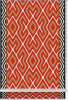 58 tarjetas hexagonales, 5 colores, repite cada 36 movimientos // sed_911_c6 diseñado en GTT༺❁