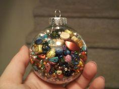 Bead Ornament #howto #tutorial