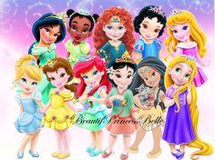 Baby Disney Princess | Disney Princess Royal Toddlers With Pocahontas by BeautifPrincessBelle