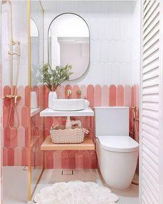 Ikea Bad, Toilette Design, Bathroom Interior Design, Bathroom Designs, Beautiful Bathrooms, Bathroom Inspiration, Bathroom Inspo, Bathroom Ideas And Ideas, Boho Bathroom