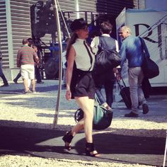 #pitti #pittiuomo #pittiuomo84 #followthebuyers #behindthescenes #fashion #farfetch #womenswear #menswear #dolcitrame #dolcitrameshop #dolcitrameatpitti #streetstyle #outfit #tie #shorts #hat