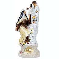 ST. THERESE WITH CHILD JESUS STATUE