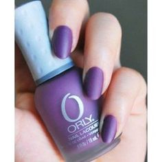 I found 'Orly Matte Couture Purple Velvet 40243 Nail Polish / Lacquer / Enamel' on Wish, check it out! Matte Purple Nails, Purple Nail Polish, Matte Nail Polish, Shiny Nails, Fun Nails, Pretty Nails, Nail Polishes, Manicure, Nail Polish Supplies