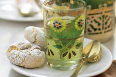 Skvělé sušenky k odpolední kávě, i k vychlazenému mátovému čaji.