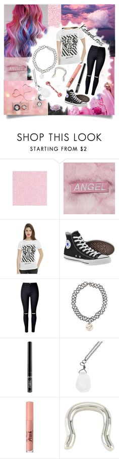 """""""Style #483"""" by katlanacross ❤ liked on Polyvore featuring Cotton Candy, Fraiche, Converse and Charlotte Russe"""