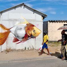 Street art | Mural by Falko One