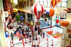 The Jelly Belly factory tour in California.  I've been there twice, even!  They hand you samples by the jelly belly!