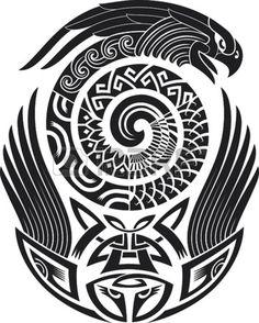12447702-tribal-tattoo-pattern-fit-for-a-shoulder-vector-illustration.jpg 1,083×1,350 píxeles