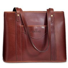 King Tote Bag - Leather   King Ranch. Love the King Ranch Saddle Shop in Kingsville, Texas. Have had more than a few of their purses & bags.  They just get more gorgeous with age!
