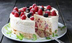 Iskaker med friske bær er alltid populære i våren og sommerens små og store festlige lag. Ikke bare er den en fryd for gane og øyne – den kan også lages flere dager før den skal serveres, og det er…