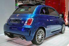 #abarth #500 #cabrio #italia #frankfurt #2011