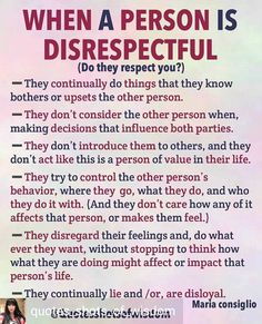 ****And it is a grave mistake to think you can earn back their respect; people who treat you this way are disrespectful because something is flawed in them; Honorable people do NOT behave like this. Narcissistic People, Narcissistic Behavior, Narcissistic Abuse Recovery, Narcissistic Sociopath, Sociopath Traits, Narcissistic Husband, Personality Disorder Types, Narcissistic Personality Disorder, Disrespect Quotes