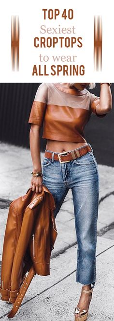 Top 40 sexiest crop tops to wear all spring.