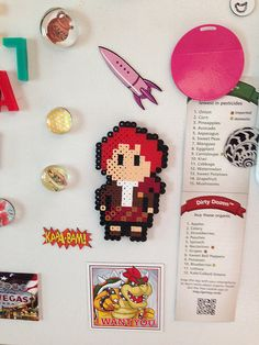 Jamie Fraser in Perler beads! | Flickr - Photo Sharing!