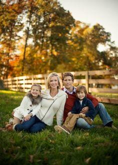 family posing, love the wardrobe by Treasured-Photographics