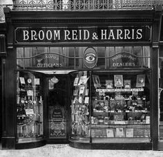 b2ef14d706b Broom Reid and Harris Shopfront c1910