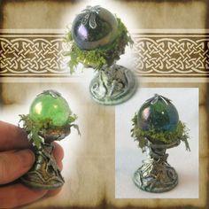 Green Fairy Crystal Ball 2 by ~grimdeva on deviantART