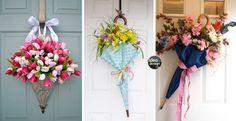 Composizioni floreali con ombrello! 15 idee a cui ispirarsi…