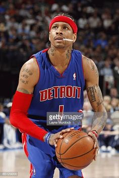 #AllenIverson #DetroitPistons #NBA Allen Iverson The Answer, Detroit Sports, Basketball Skills, Detroit Pistons, Men's Fitness, Nba, America, History, School