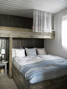 The room is space of the house that has a particular part in turning into a component of the interior home. It ought not to be too stark in decorating a room as it is for sure that you will wind up… Cottage Design, House Design, Design Room, Floor Design, Bunk Rooms, Bedrooms, Suites, Home Bedroom, Lofted Bedroom