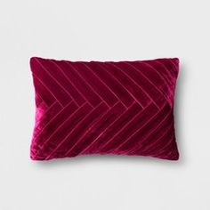 Merlot Pleated Velvet Lumbar Pillow - Opalhouse for sale online Young House Love, Diy Window Shades, Pea Gravel Patio, Bedroom Built Ins, Built In Bunks, Save My Money, Shed Storage, Storage Ideas, Backyard Storage