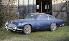 This barn find 1964 Aston Martin DB5 will be auctioned by Bonhams. More details: http://www.autoweek.com/article/20130128/CARNEWS01/130129812