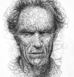 Amazing Expressive Pen Strokes by Italian Artist Erick centeno