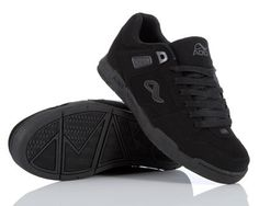 Adio Release black monogram sneakers