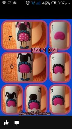 """Awesome """"top nail art designs"""" info is available on our site. Check it out and you wont be sorry you did. Toe Nail Art, Easy Nail Art, Toe Nails, Basic Nails, Simple Nails, Nails For Kids, Nail Art Videos, Diy Nail Designs, Pedicure Nails"""