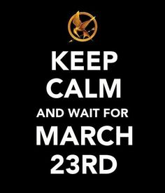 i cannot wait! <3 i may not be calm...