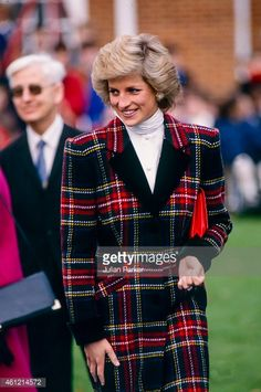 January 23, 1989: Princess Diana visiting Relate Counseling offices and Lord Mayor Treloar College in Portsmouth.