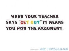 student vs teacher school quotes - this quote is true