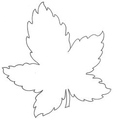 Free printable Leaf Templates lots more shapes on the blog.