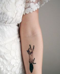 What a FOXY tattoo! I'm so sorry.