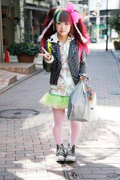 Harajuku street fashion | #harajuku