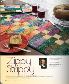 Point ... and final !: Zippy strippy