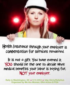 The truth of the matter... Health insurance is compensation for services rendered!