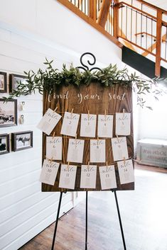 WinMock is one of the premier event venues in the American South. It combines its historical site with the technological capabilities of modern venues. Table Seating Chart, Wedding Table Seating, Wedding Table Signs, Wedding Table Assignments, Gift Table Wedding, Wedding Favors, Wedding Ideas, Wedding Signage, Rustic Wedding
