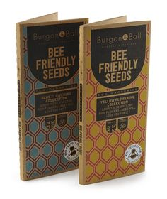 Save the bees!  Attract the bees into your garden with these 'bee friendly' seeds