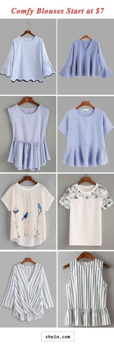 Comfy blouses start at $7! Aproducts, clothes shops, online clothing websites websites fashion buy me cheap online clothes websites #cheapfashionwebsites