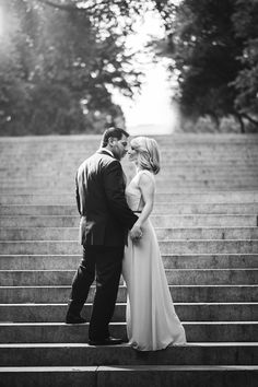 Our anniversary photos taken in Central Park, NYC by wedding photographers Justin & Mary Marantz. Photo by: Justin & Mary