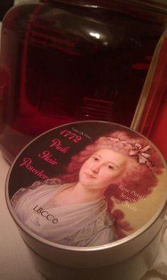 18th Century Makeup Powder  18th Century Pink Hair Powder. $15.00, via Etsy. Original 18th CENTURY Recipe.