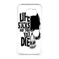 FRZ-Life Sucks And Then You Die Logo Galaxy S6 Case Fit For Galaxy S6 Hardplastic Case White Framed FRZ http://www.amazon.com/dp/B016ZBPL2Y/ref=cm_sw_r_pi_dp_svSnwb1JXP42A