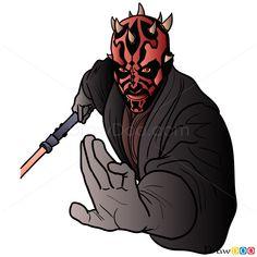 How to Draw Darth Maul, Star Wars обновлено: December 17, 2015 автором: