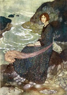 The Abyss of Time by Edmund Dulac