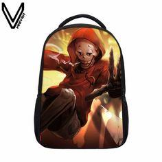 VEEVANV 2017 Undertale Printing Backpack Boy Girls School Bags Sans And Papyrus School Backpacks Undertale Children Bookbag Gift