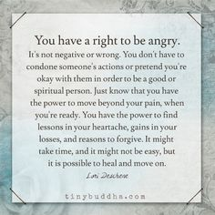 It is possible to heal and move on                                                                                                                                                                                 More